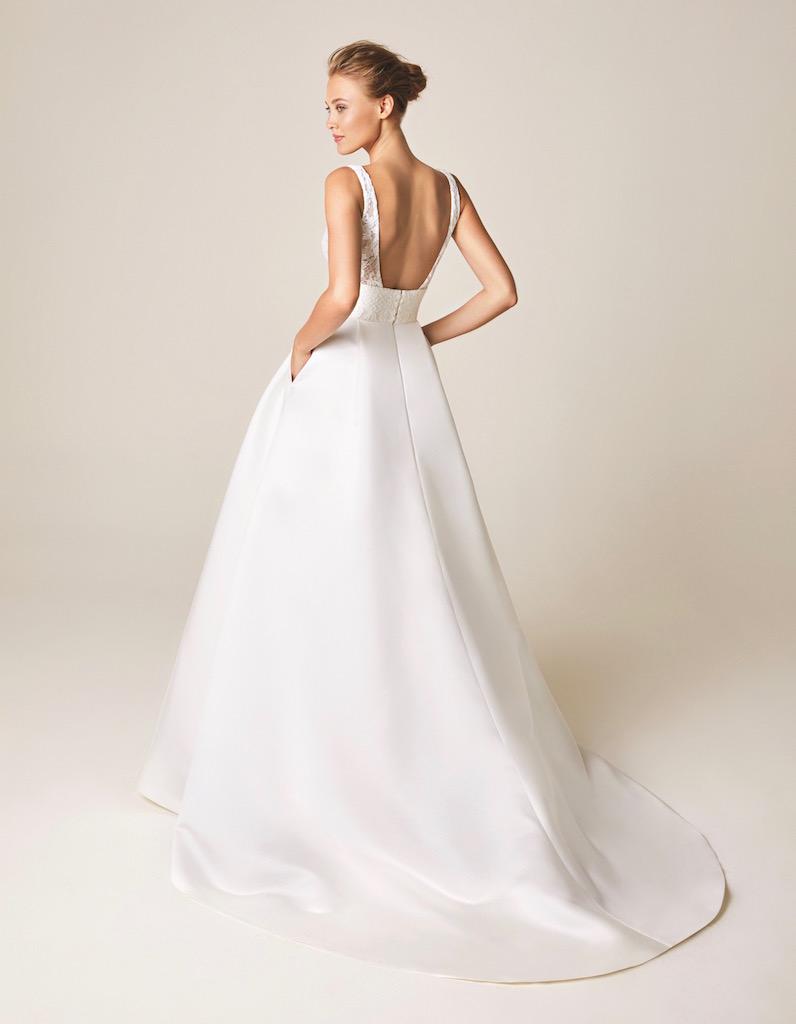 Jesus Peiro Wedding Dress 961 back