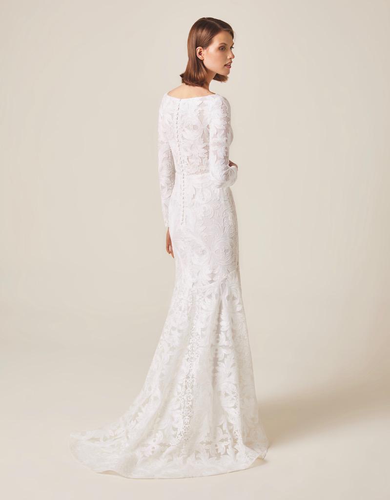 Jesus Peiro Wedding Dress 978 back