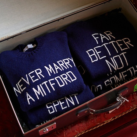 Clearly you needed a dark sense of humour to be married to a Mitford sister!