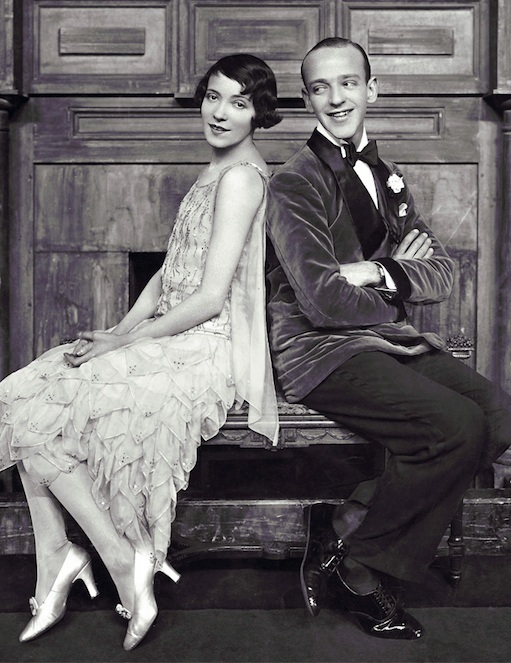 Adele and Fred Astaire were the toast of the town in the US and the UK alike.