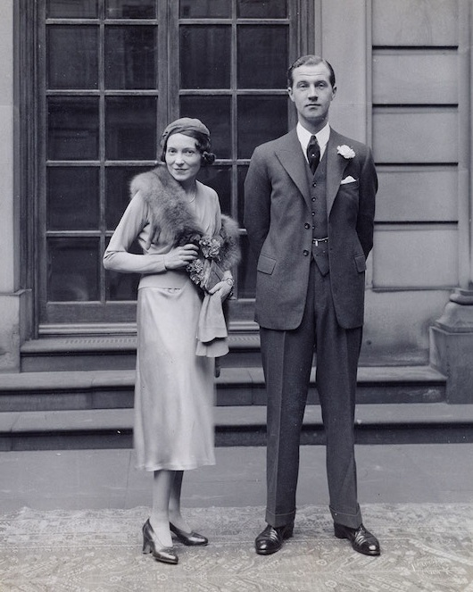 Get a load of these two! Adele Astaire and Charles Cavendish on their wedding day in 1932. Credit: Devonshire Collection, Chatsworth.