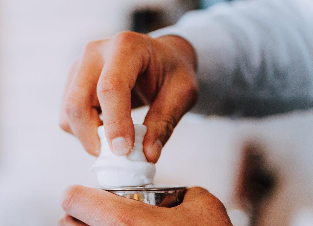 Før, under & efter - Produkter til Skæg & Barbering →