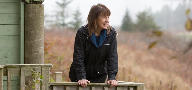 "Hope Swinimer at Hope for Wildlife in Seaforth, a property she considers ""the perfect location for a rehab."""