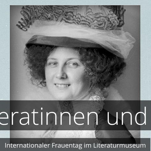Literatinnen und Musen, im Literaturmuseum der Österreichischen Nationalbibliothek