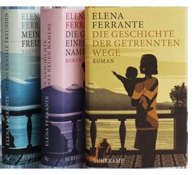 Die Neapolitanische Saga von Elena Ferrante