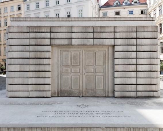 Rachel Whiteread, Holocaust-Mahnmal, Judenplatz, 2000 Foto: Johannes Stoll, © Belvedere, Wien