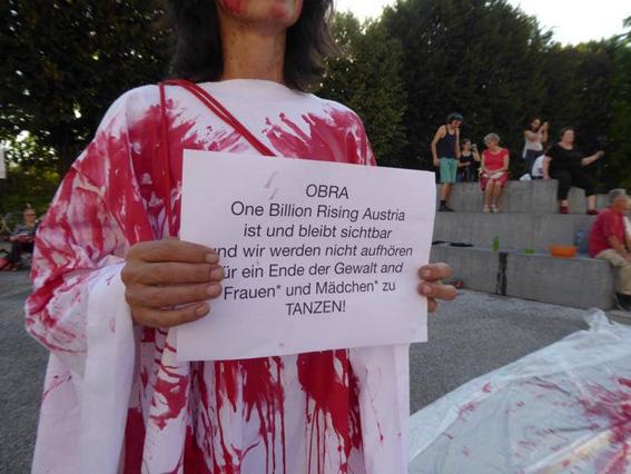 18. 8. 2018, OBRA – One Billion Rising Austria – © Hannelore Stoff