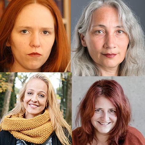 Gertraud Klemm, Petra Unger, Nunu Kaller und Helga Pregesbauer