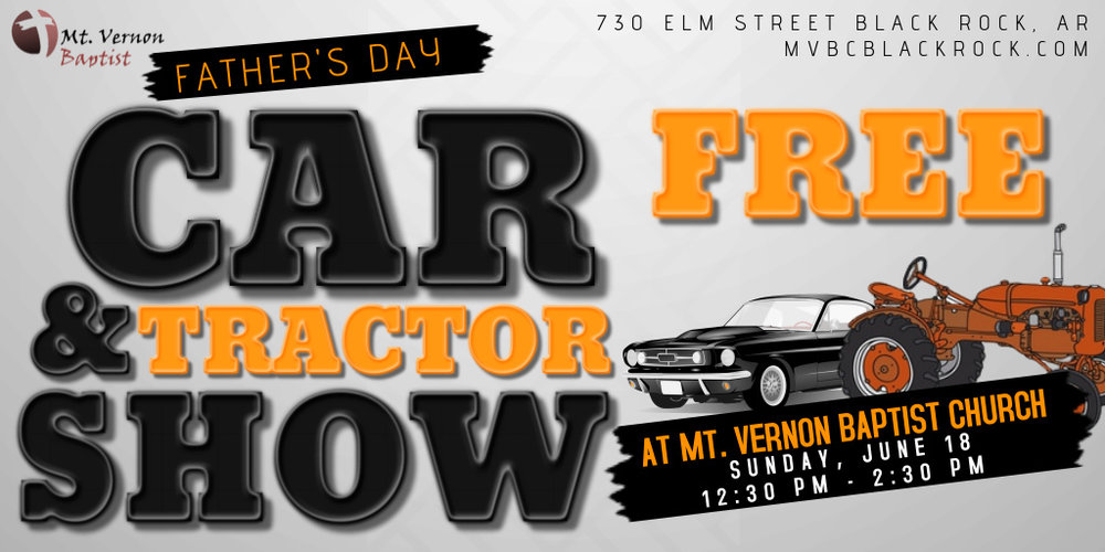 free car show flyer template