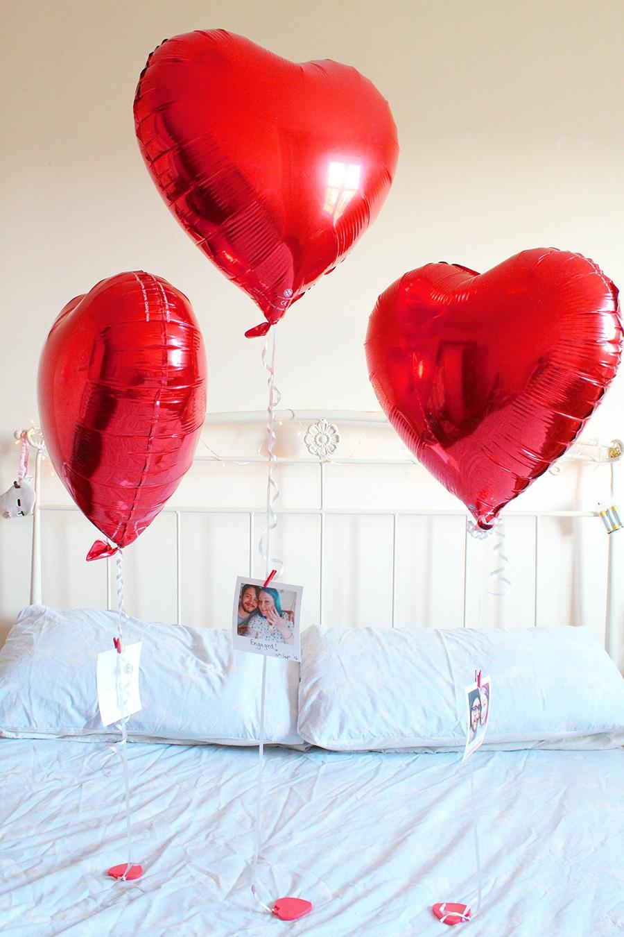 DIY Valentines balloons - Valentine's Day Gift Ideas