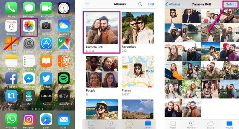 how-to-add-photos-to-album-ios