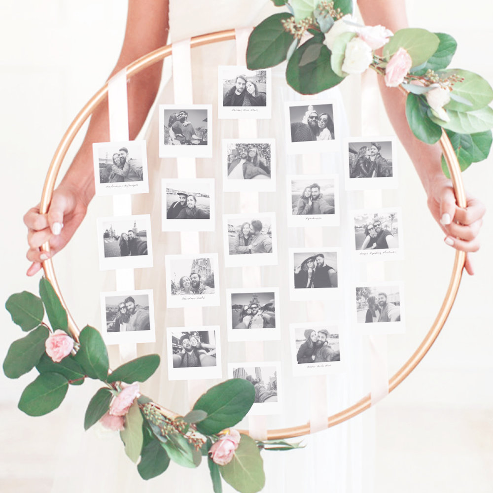 Wedding Photo Garland