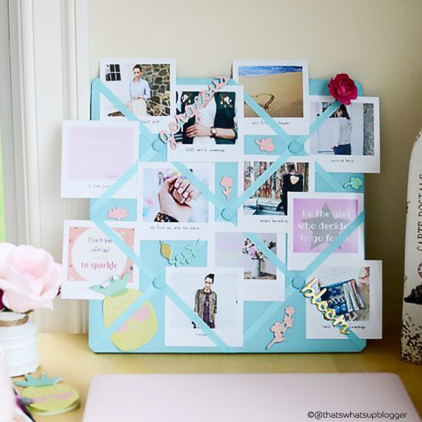 Room decor ideas using photo prints - Mood board