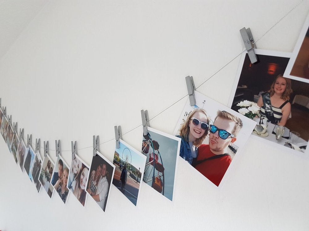 Room decor ideas using photo prints