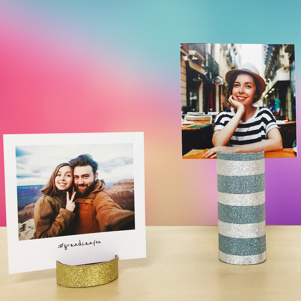 DIY Photo Stand Toilet Paper Roll