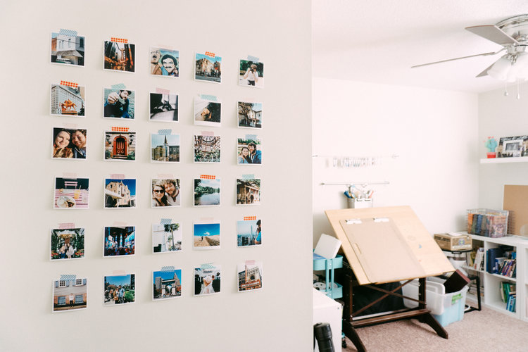 DIY Instagram Wall Decor