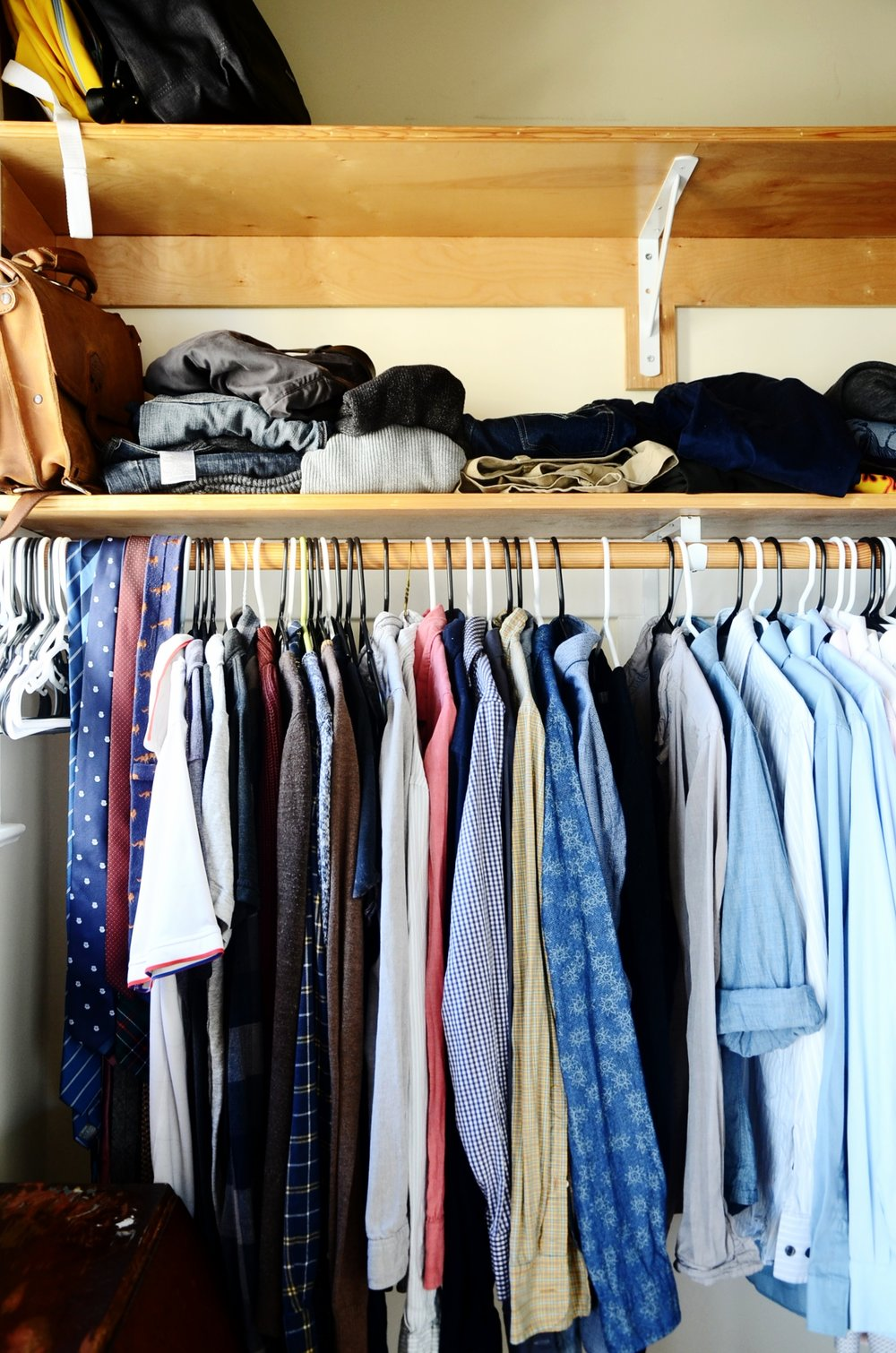 All the closet space!