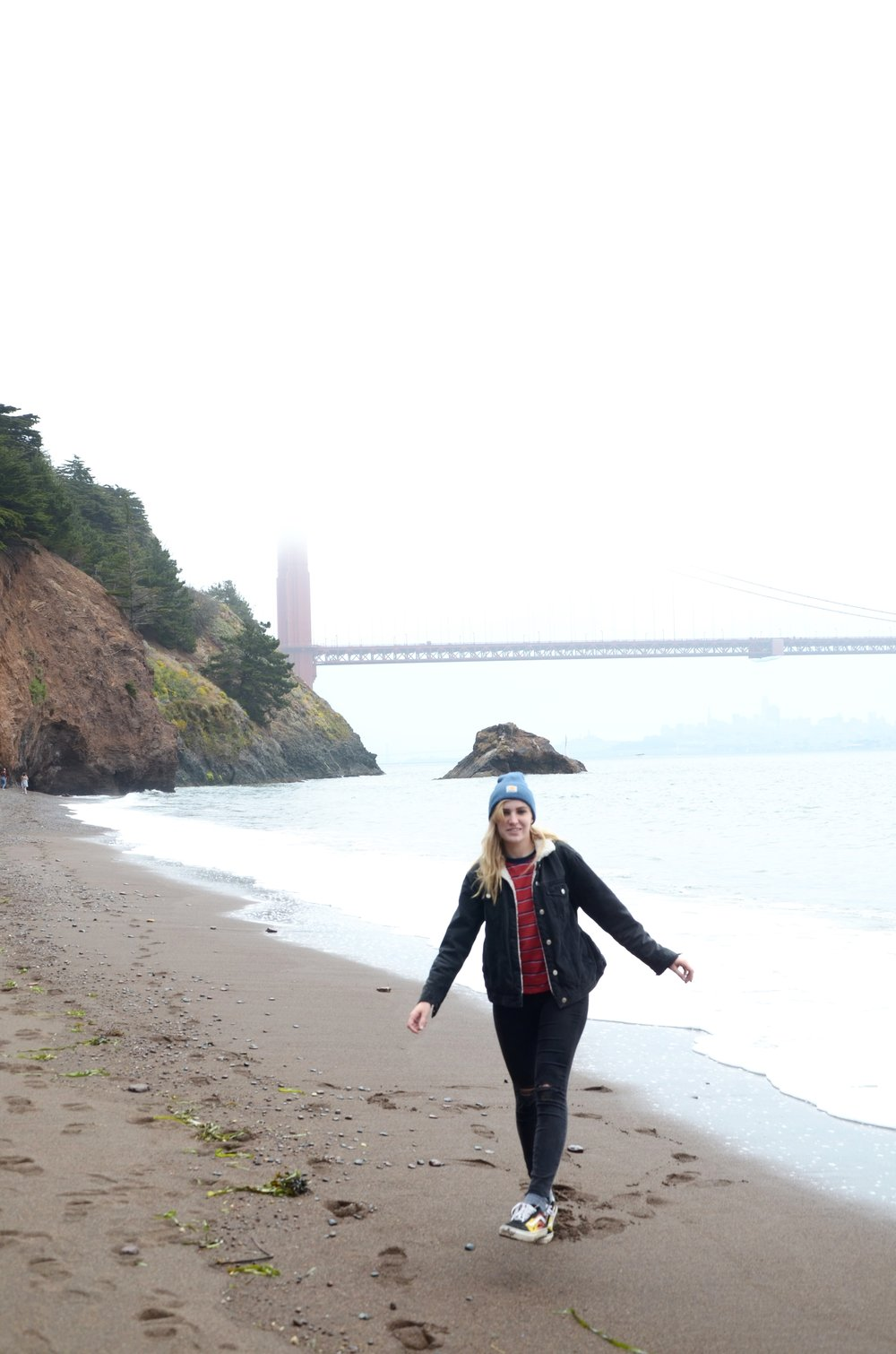 GGB at Kirby Cove.