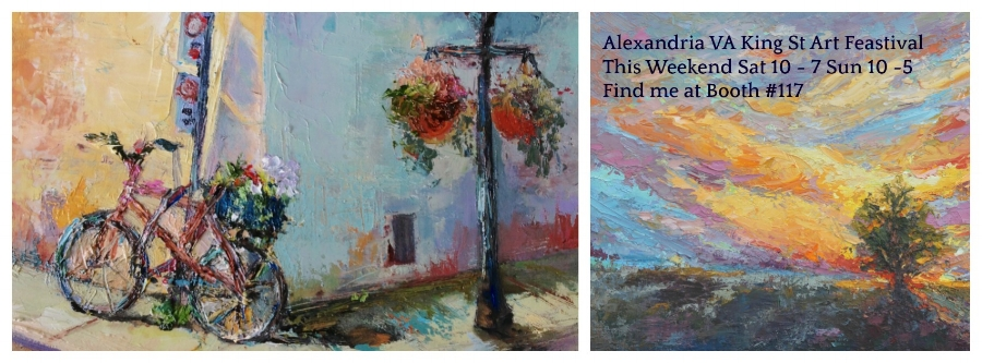 If You find yourself in the Alexandria area this weekend, stop by the show. Details