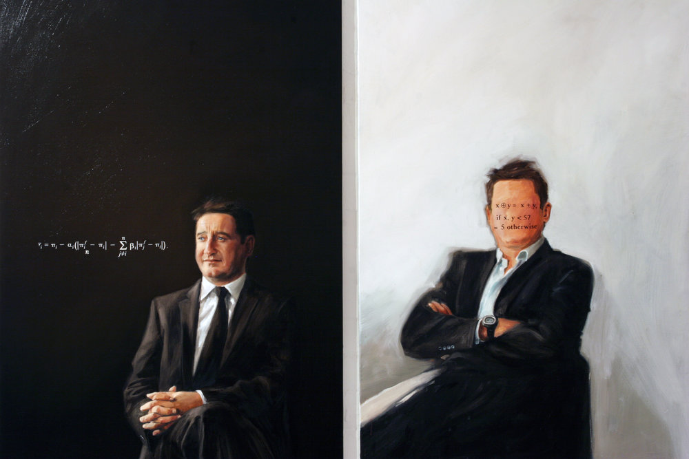 P ortrait with Notion of Victory,  2006 and  Not a Something but Not a Nothing Either,  2007