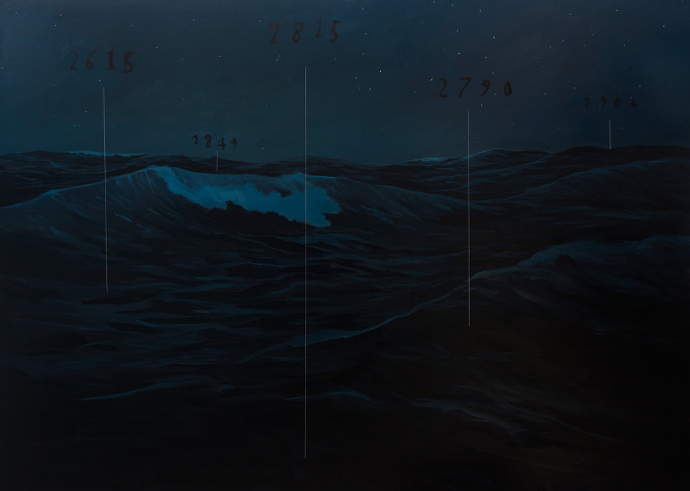 Nighttime Seascape, 2016