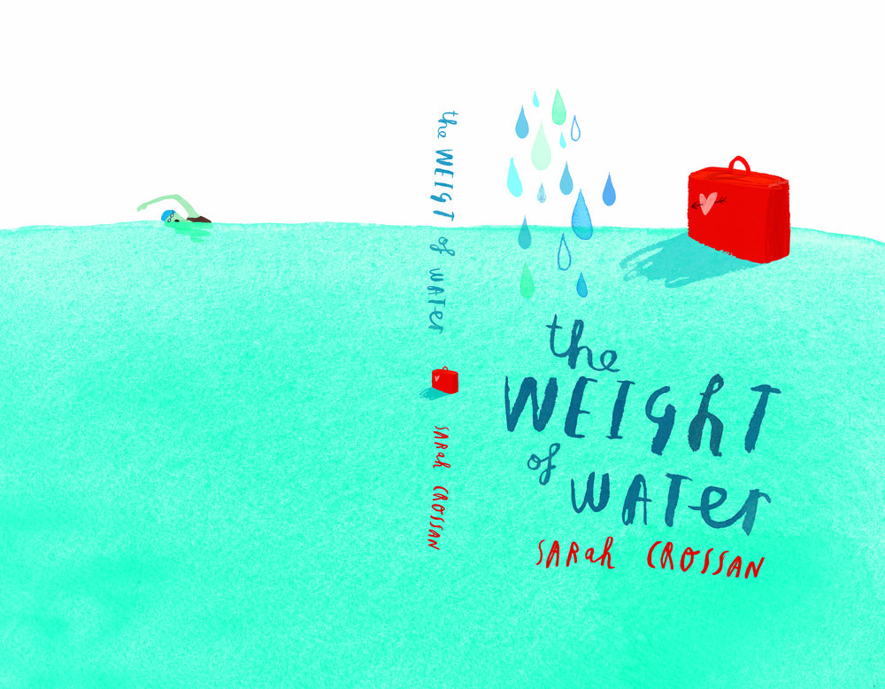 Cover Design for  The Weight of Water  by Sarah Crossan