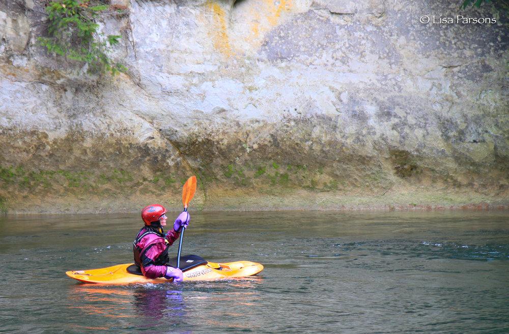 Winter Kayaker