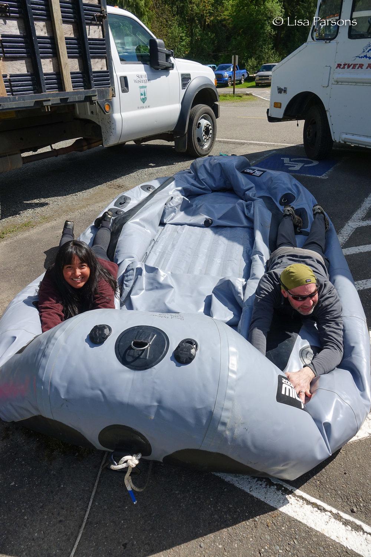 Help Deflate a Raft