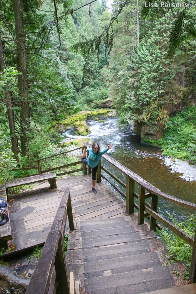 Platform Overlooking Gorge