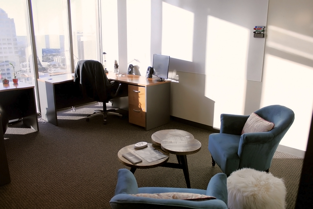 Our Offices: We create and collaborate in these beautiful work spaces.