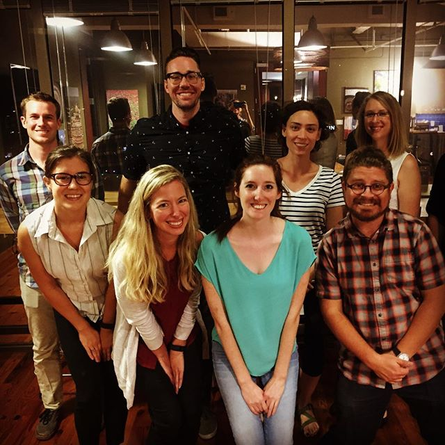 4 weeks of UX empathy training will leave you glowing like this! We had an amazing time with this crew. Heart of UX Moderation Skills Class of 2016 #ux #empathy #userexperience #atx
