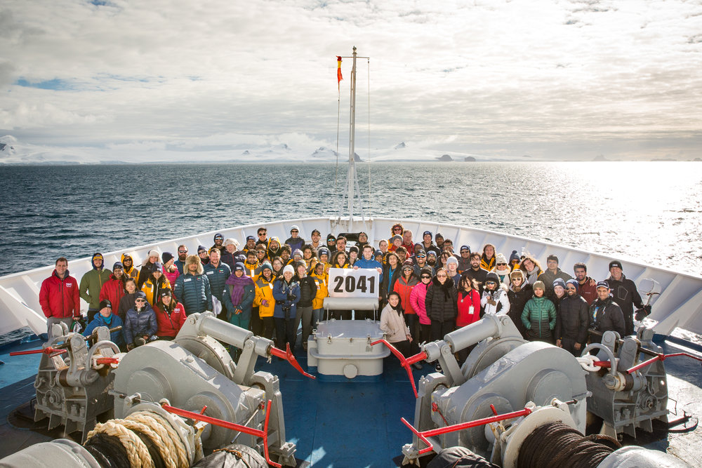 2041 International Antarctic Expedition. Photo by Trent T Branson.
