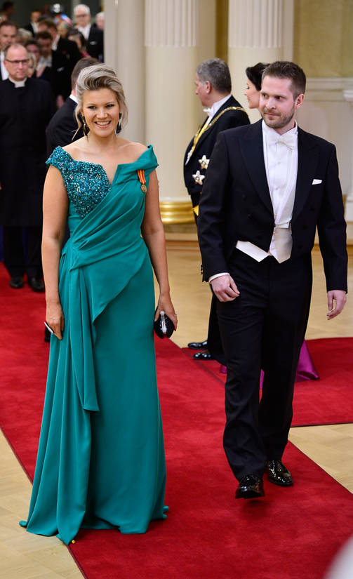 Presidential Independence Day Reception 2015, Finnish Parlamentarian Sofia Vikman, Unique Evening Dress