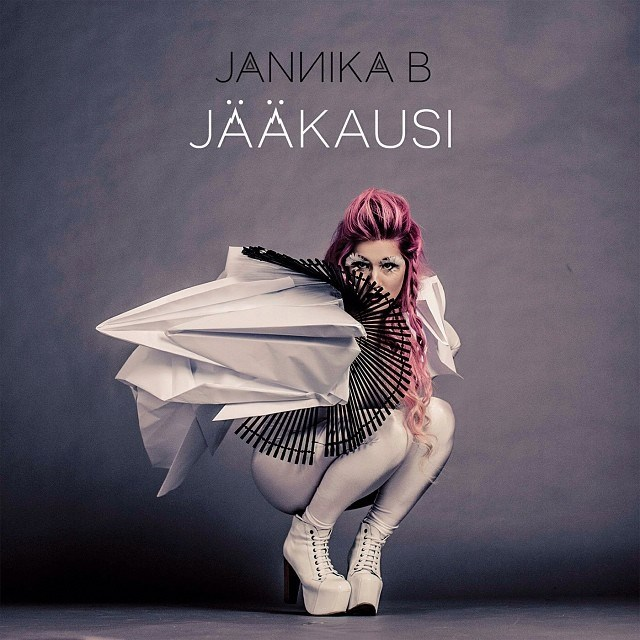 Jannika B, album cover, paper, 2014, photo Ville Juurikkala