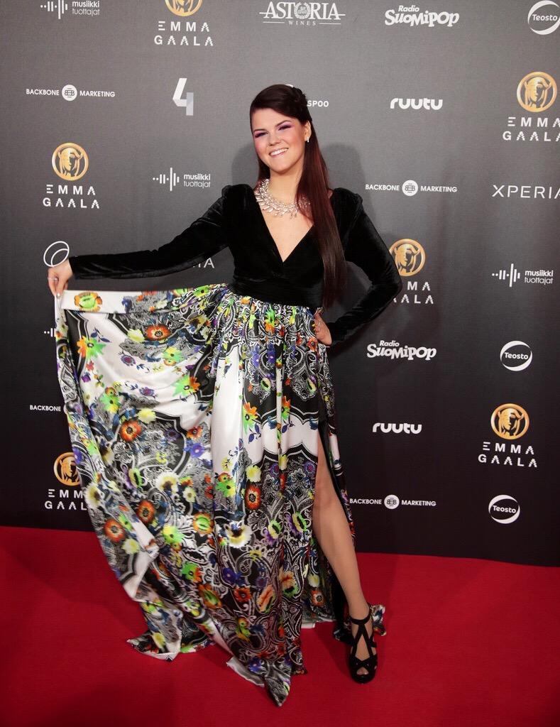 Saara Aalto, Unique Evening Dress, Emma Gala 2017