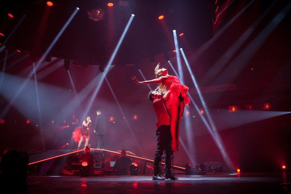 Saara Aalto, In My Wildest Dreams concert, Hartwall Arena, 2017, photo Ville Paasimaa