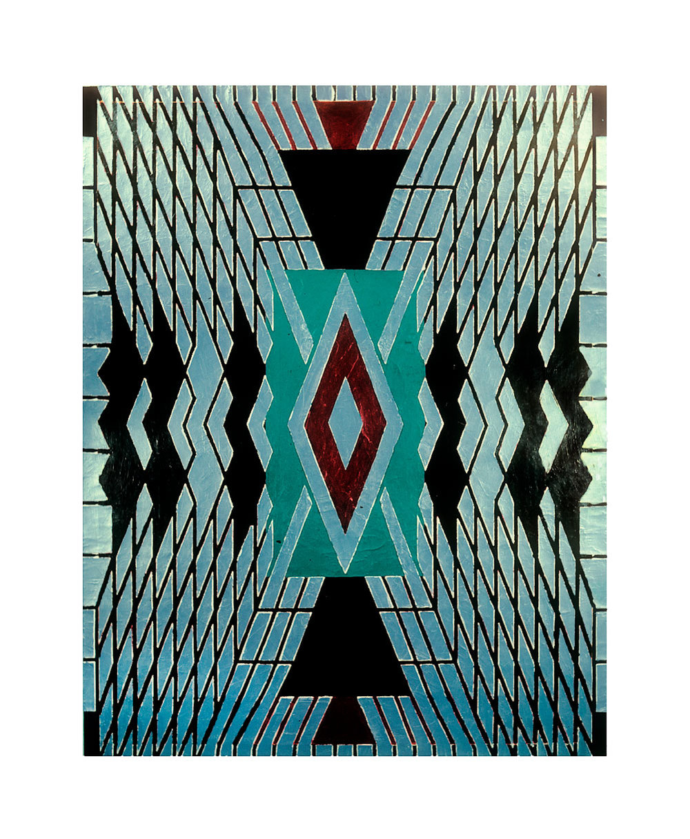 "1981 ""Grand Duchess""  Acrylic on Canvas  84H x 66W"