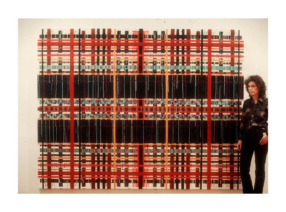"""1977  """"Barrier""""        w. Susan"""