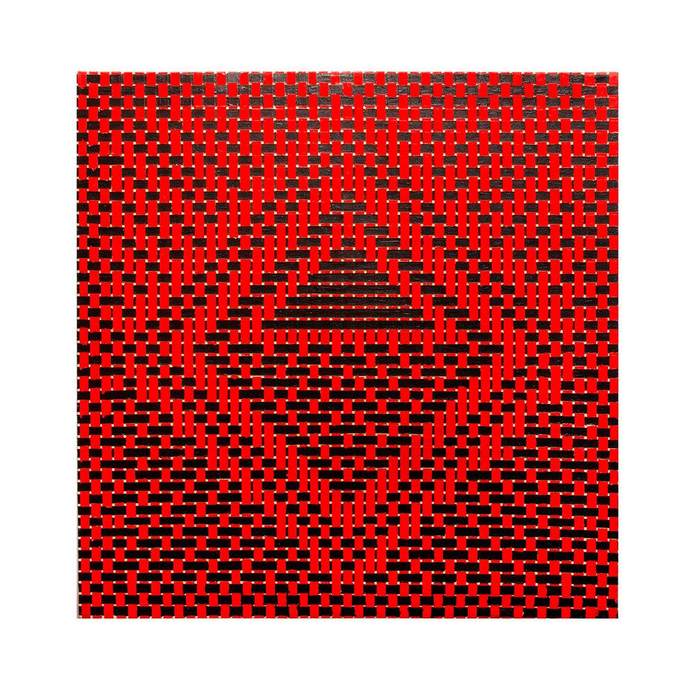 """1978  """"Maitreya""""  Acrylic on Canvas  60H x 60W"""