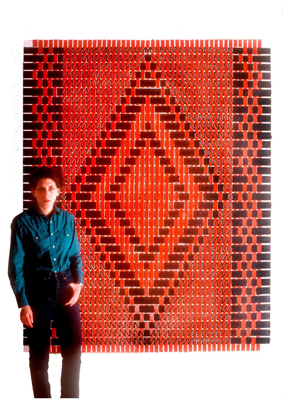 """1980 """"Diamond w. Red & Black""""       w. Susan"""