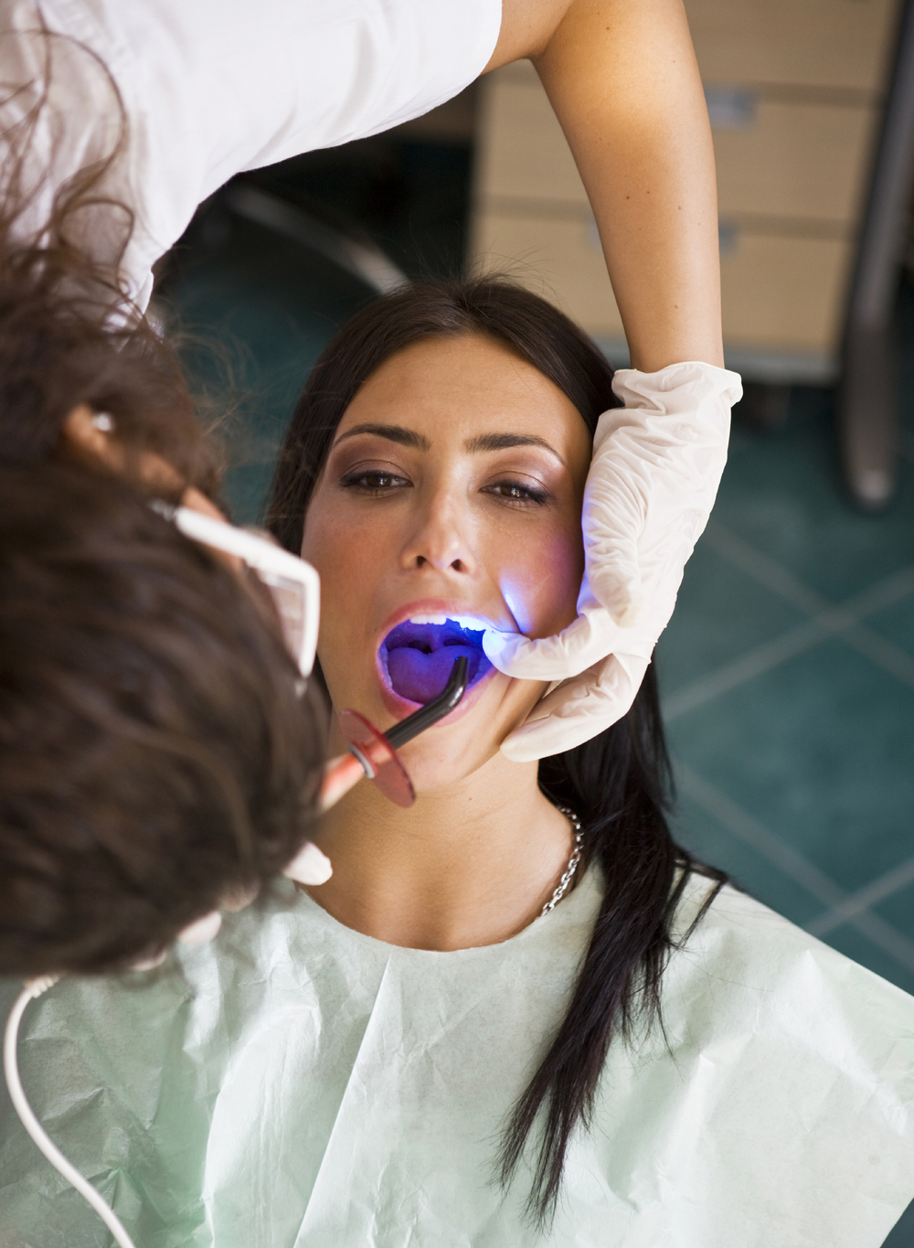 Dr. Wiggins uses an intra-oral camera to get a clear picture of the health of your mouth.