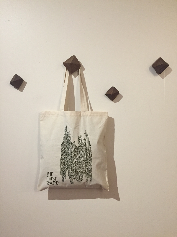 The First Ward Hair Studio Tulsa Blog Tote Bag October 2014