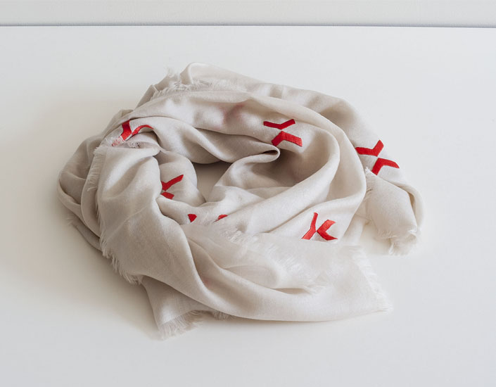 The First Ward Hair Studio Tulsa Blog Payal Luthra Embroidered Scarf October 2014