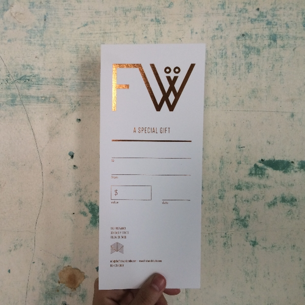 The First Ward Hair Studio Tulsa Blog Gift Certificates November 2014