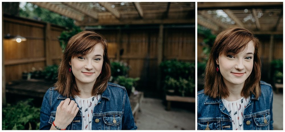 Indianapolis senior photography | broad ripple