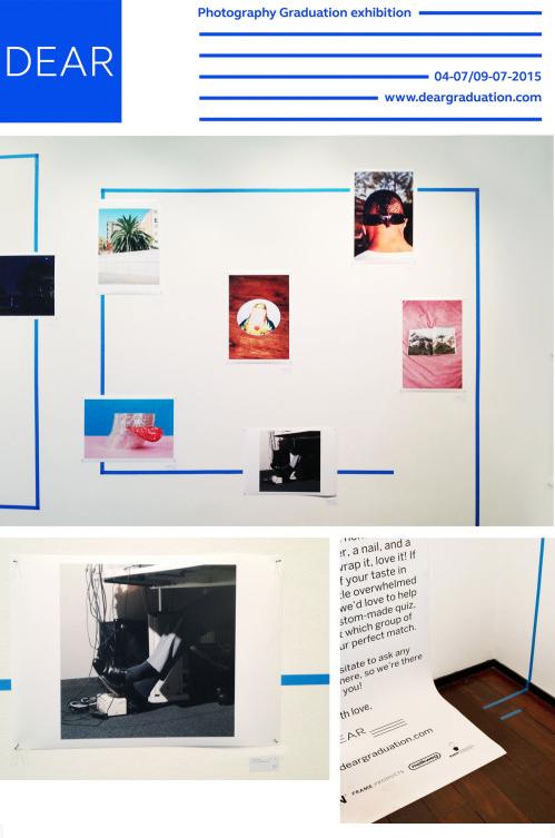 Van 17 t/m 19 april 2015 komen ruim 40 jonge fotografen naar Melkweg Expo met een eenmalige creatieve fabriek. 'DEAR..' is een collectief van eindexamenstudenten fotografie aan de KABK in Den Haag die in juli 2015 afstuderen. Ze kunnen echter niet wachten om hun werk met de wereld te delen en komen daarom met een pop-up printsale naar Amsterdam.  Fotografie (kopen) hoeft niet moeilijk of traag te zijn. Daarom hebben de fotografen van 'DEAR..' een eenmalige productielijn gestart. Voor 49,99 euro wordt een unieke foto, op hoge kwaliteit, ter plekke voor je geprint en ingepakt. Ze geven je zelfs de mogelijkheid om je nieuwe aanschaf op professionele wijze te laten inlijsten, zodat je eenmaal thuis alleen nog een hamer en spijker erbij hoeft te pakken.  Pick it, print it, wrap it, love it!  Introducing 'DEAR..': The Print Factory  MELKWEG EXPO