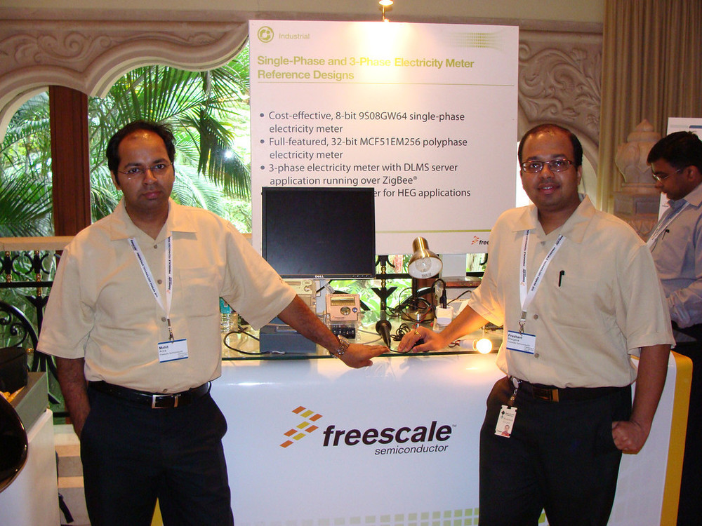 Freescale Technology Forum @ 2010 , Bangalore
