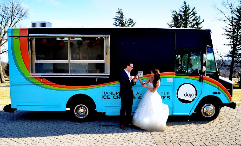 dojo gelato truck