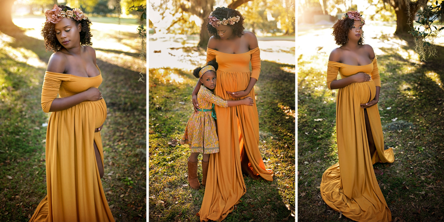 gorgeous golden maternity sessions