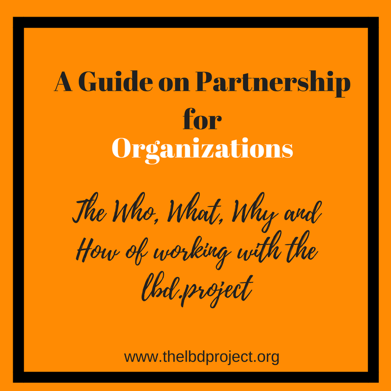CLICK THE IMAGE ABOVE to access our document on how your organization can work with the LBD.Project to bring freedom to modern-day slaves.